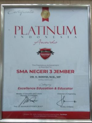 Excellence Education & Educator 2018