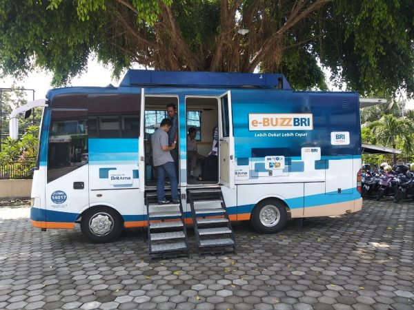Sosialisai Bus BRI (Bank Rakyat Indonesia)