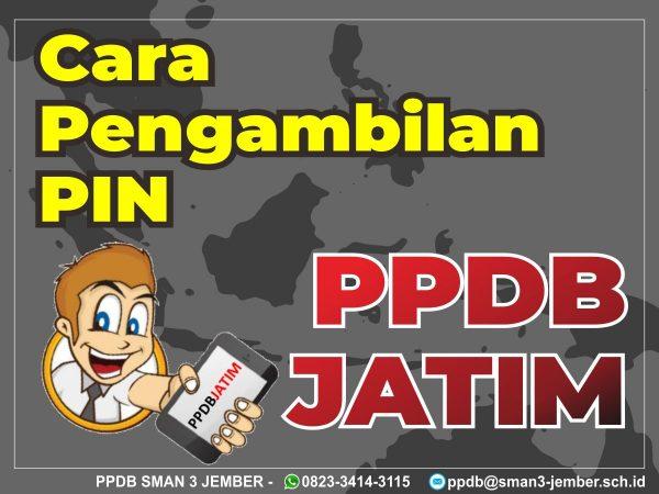 Tata Cara Pengambilan PIN PPDB Jatim 2020