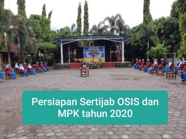 Sertijab OSIS dan MPK Tahun 2020