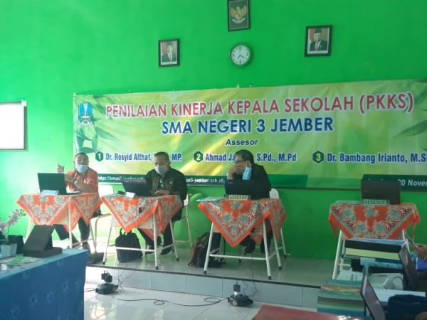 Penilaian Kinerja Kepala Sekolah ( PKKS ) SMAN 3 Jember