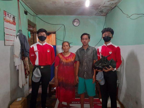 Kegiatan Kepedulian Siswa SMAN  3 Jember Untuk Korban Banjir