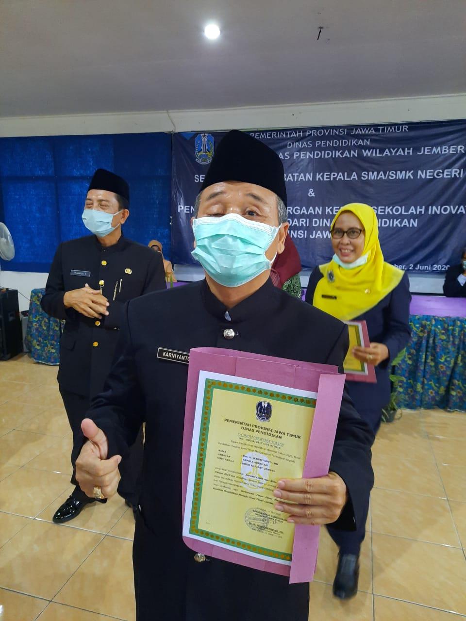 Penghargaan Kepala Sekolah Inovatif