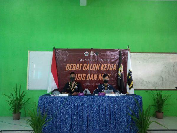 Debat Calon Ketua OSIS / MPK Periode 2021/2022